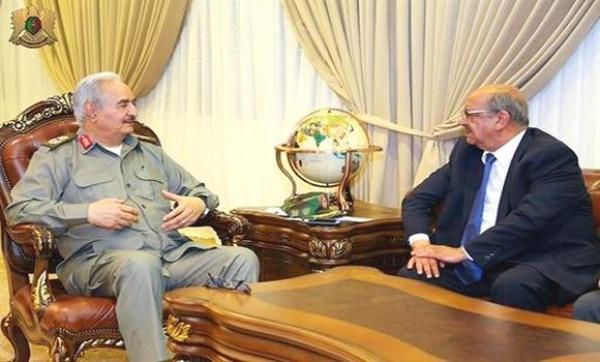 Turneja G. Mesahela (Messahel) u Libiji :