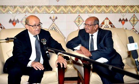 Bilateralni odnosi i predstojeća poseta Makrona Alžiru, centralne teme razgovora Mesahel (Messahel) – Ledrijan (Le Drian)