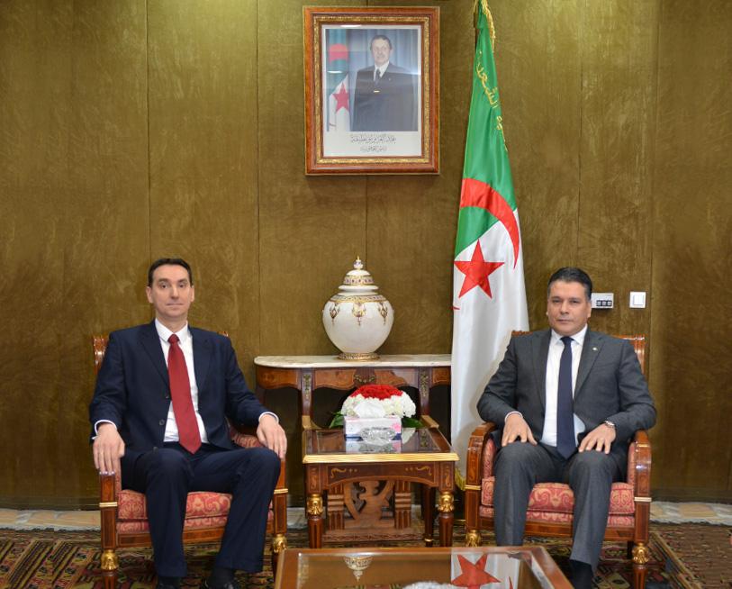 Predsednik Narodne Nacionalne Skupštine primio Ambasadora Srbije u Alžiru