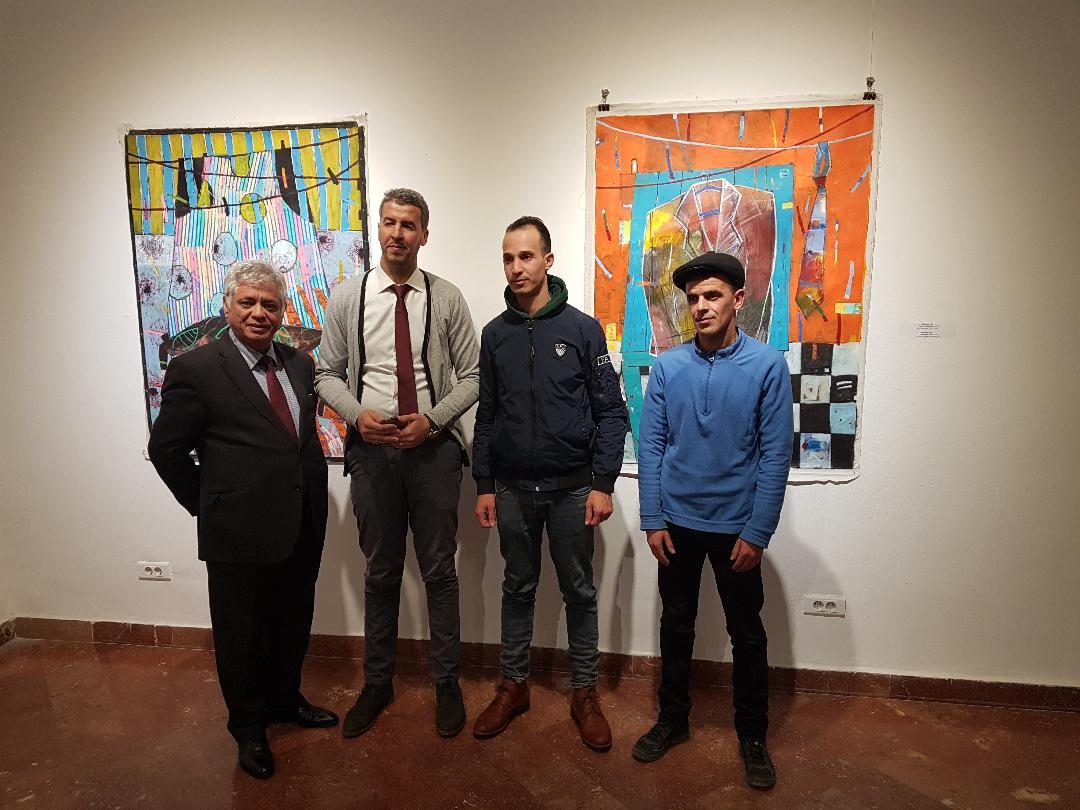 Izložba umetničkih dela trojice alžirskih slikara