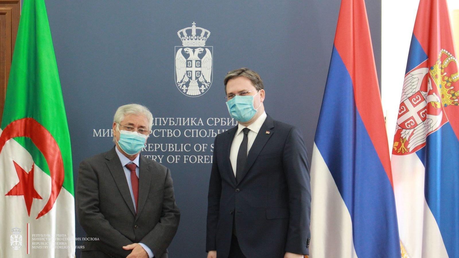 G.Abdelhamida Šebšuba primio je u audijenciju G.Nikola Selaković
