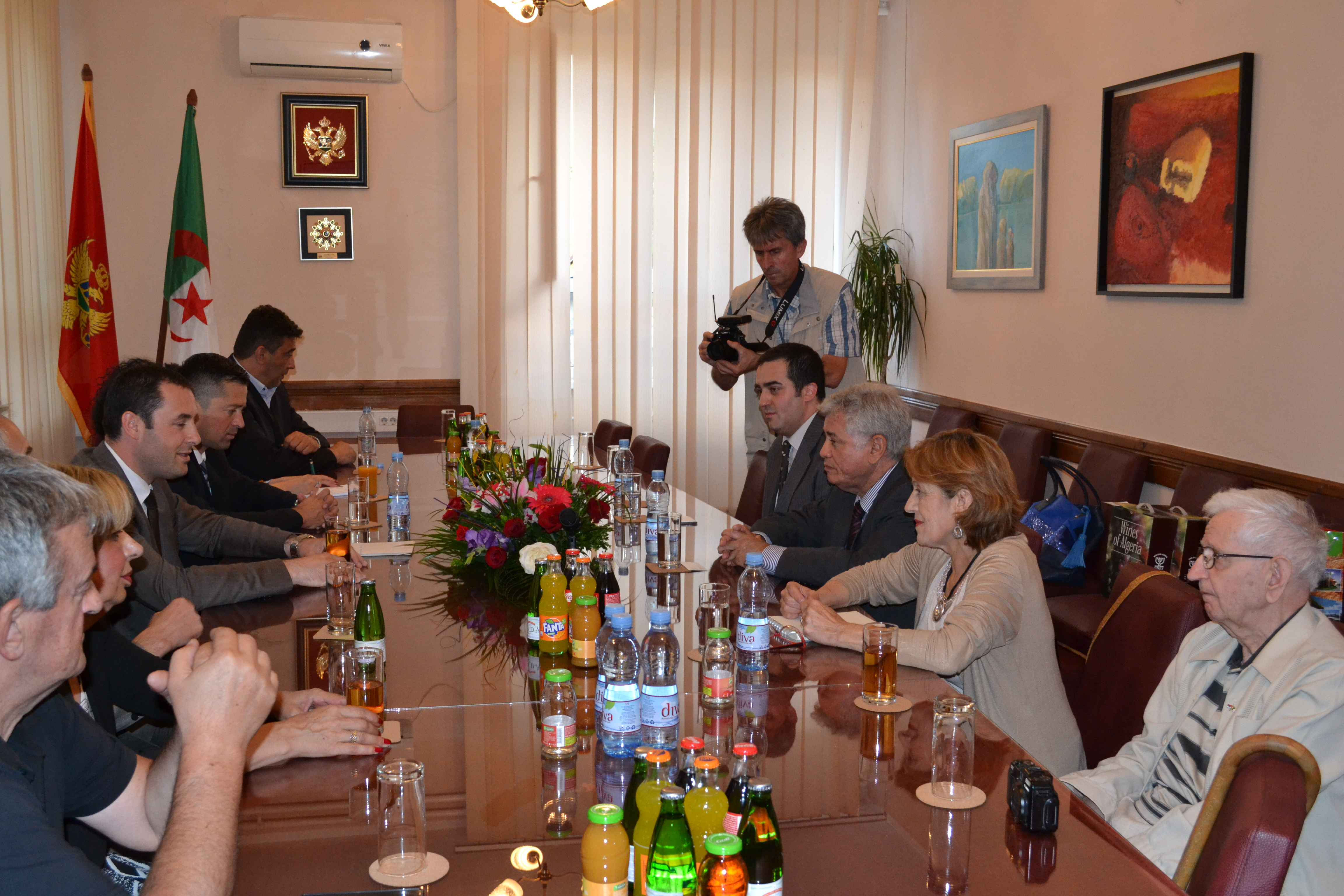 L'Ambassadeur d'Algérie au Monténégro s'entretient avec le Président de la Municipalité de Berane