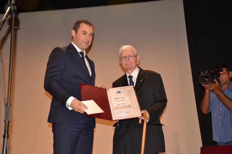 Labudovic et le President de la Municipalite de Berane