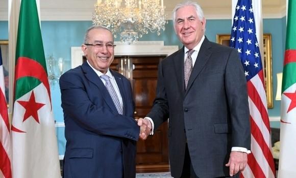 Lamamra s'entretient à Washington avec le secrétaire d'Etat américain