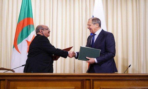 Russie-Algérie : M. Messahel s'entretient à Moscou avec Lavrov