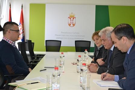L'ambassadeur d'Algérie a été reçu par le Ministre de l'Agriculture des Eaux et Forêts