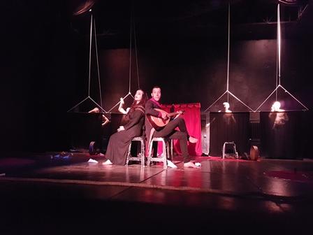 """La pièce """"Tacequft Tanegarut"""" présentée hier soir au 17e Festival international du théâtre de Slavija (Serbie)"""
