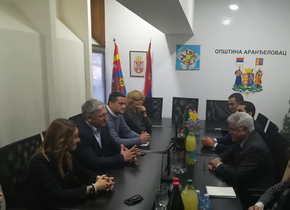 L'Ambassadeur d'Algérie en visite à Arandjelovac