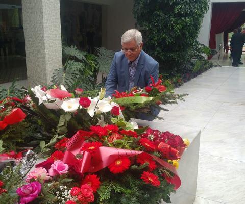 L'Ambassadeur d'Algérie rend hommage au Président Tito