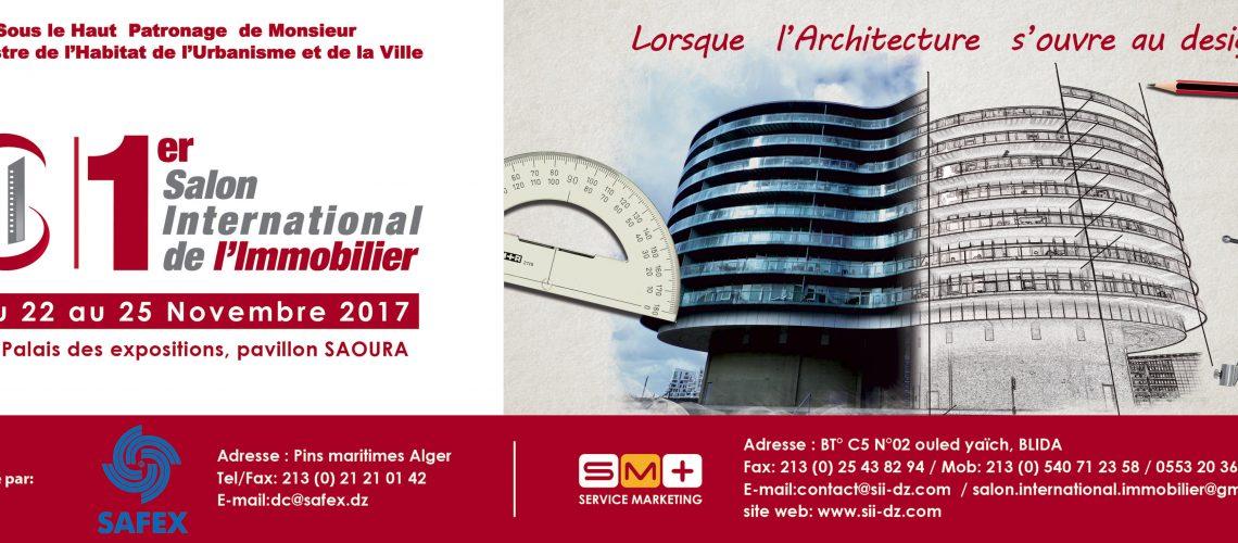 1er salon international de l immobilier 22 25 11 2017 for Salon de l immobilier paris 2017