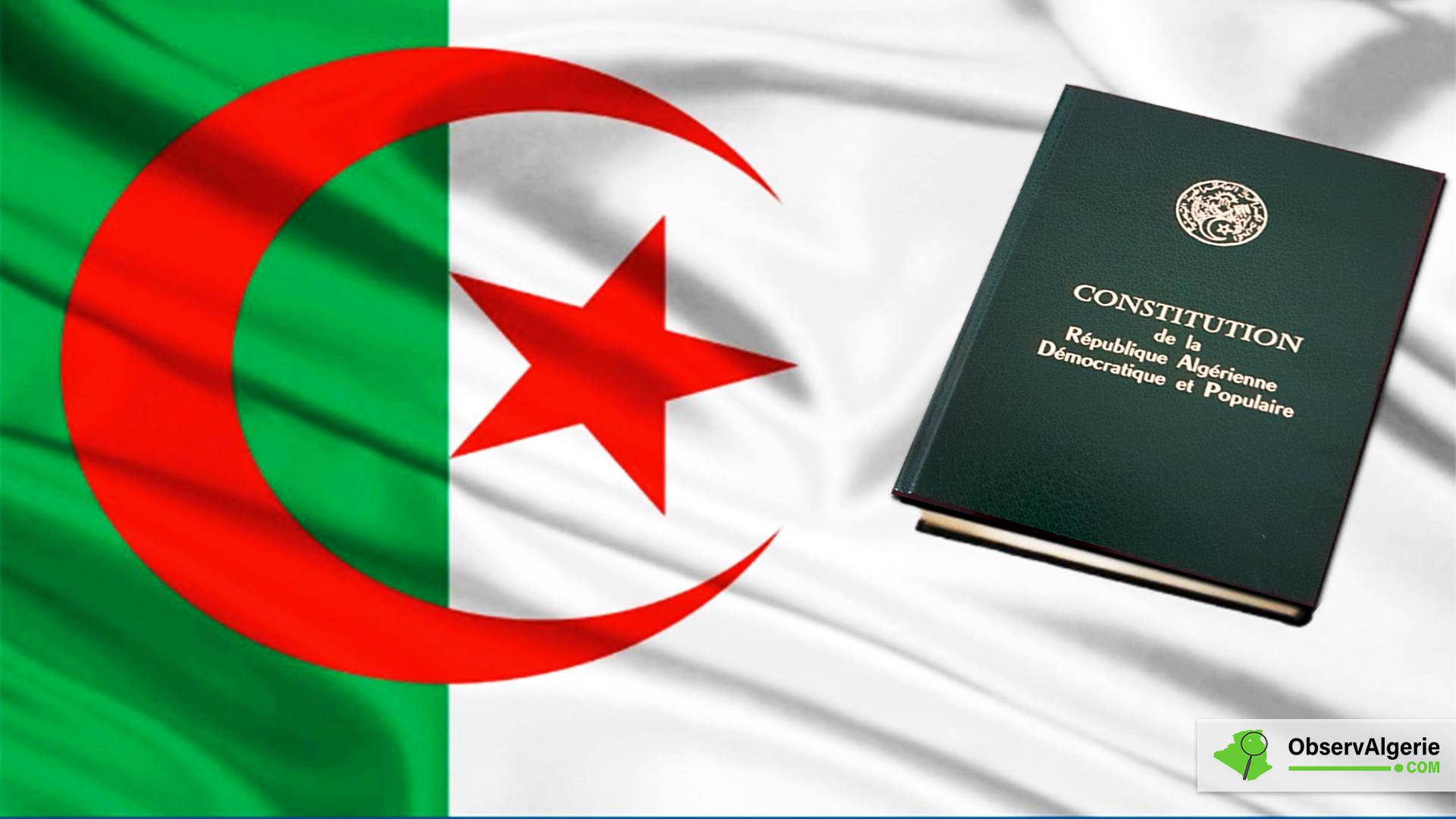 Révision de la Constitution : Le projet de texte adopté par l'APN et le Conseil de la Nation